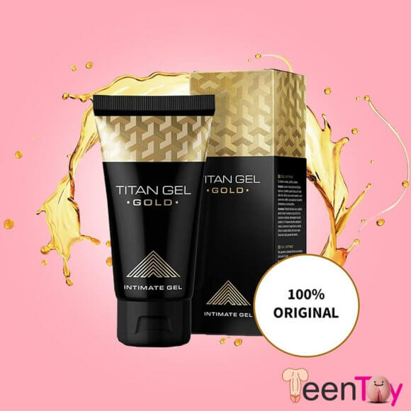 Titan Gel Gold for Men Penis Enlarger PEC-012