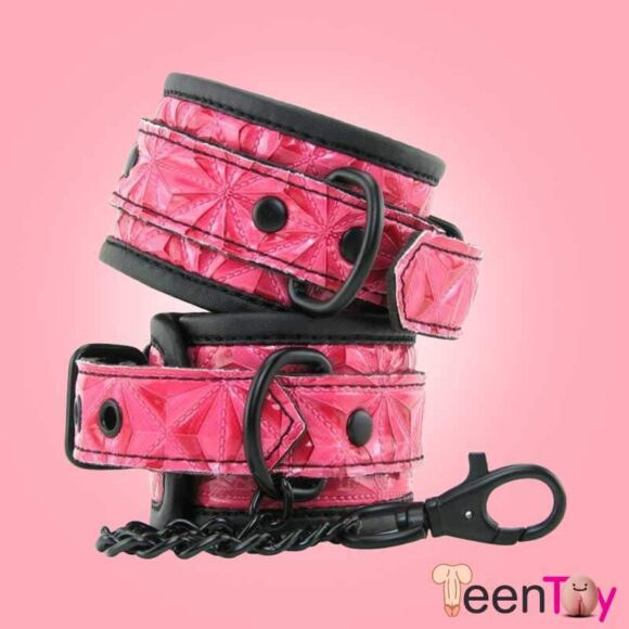 Luxury Fetish Wrist Cuffs Handcuff BDSM-020