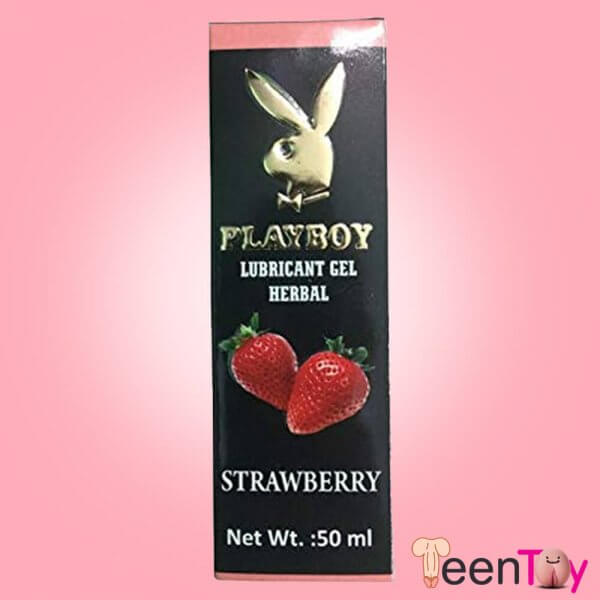 Playboy Lubricant Water Based Gel-Strawberry Flavoured CGS-034