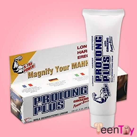 PROLONG PLUS Delay Soothing Male Desensitizer Cream DTZ-005