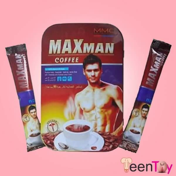 Maxman Coffee Sexual Enhancer for Men HSP-006
