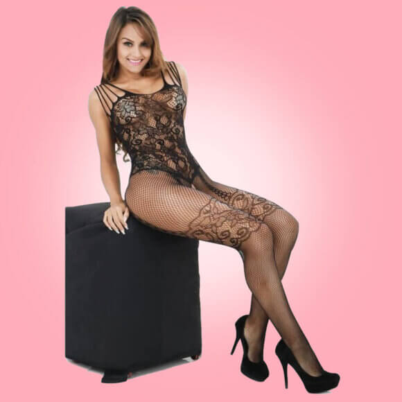 Sleepwear Body Stocking Fishnet Bodysuit SL-006