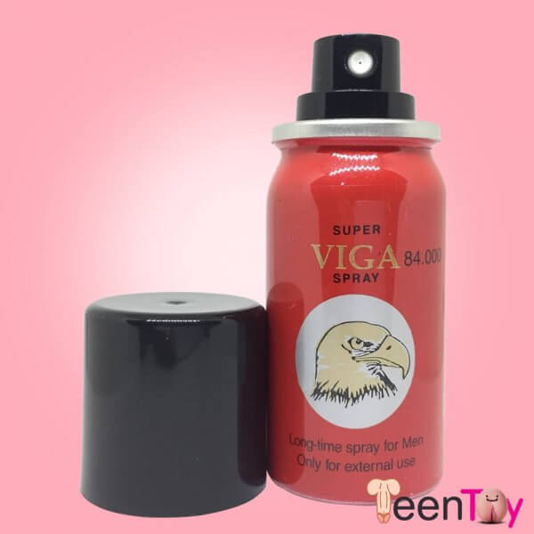 Super Viga 84000 largo tiempo Pene Desensitizing Spray DTZ-008