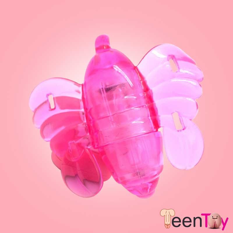 Butterfly Remote Control Strap On Vibrator SO-008